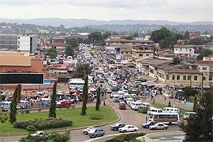 Vista de la ciudad de  Accra